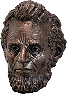 President Abraham Lincoln Penny Bronze Color Full Halloween Latex Mask