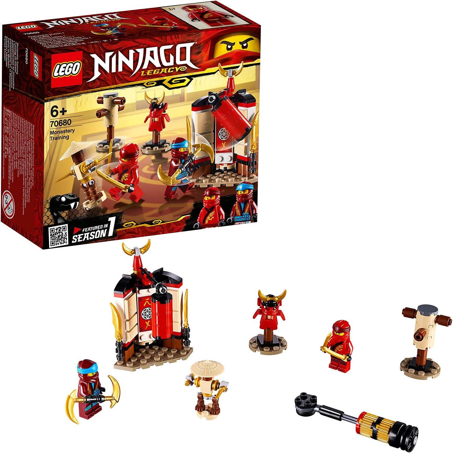 Lego 6259055 Lego Ninjago Lego Ninjago Kloostertraining - 70680, Multicolor