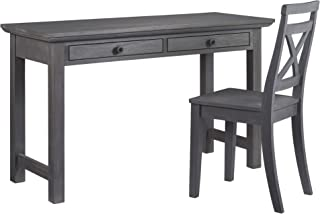 Oxford Baby London Lane Desk and Chair, Arctic Gray