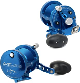 Avet 2-Speed Reel, Silver, Left