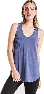 Z SUPPLY Clothing Women's The Pocket Racer V Neck Tank Top