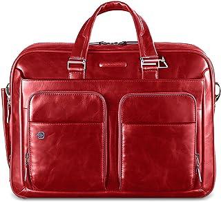 Piquadro Portfolio Mallette d'ordinateur avec Compartiment pour iPad, Rouge (Rouge) - CA2849B2/R