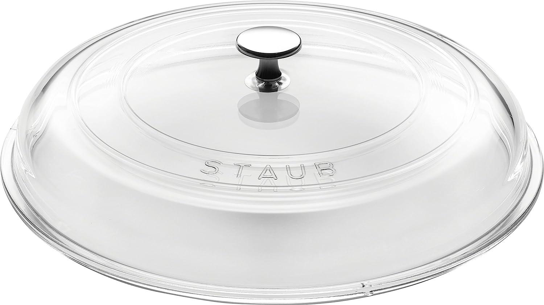 STAUB 40501-028-0Transparent discount Glass lowest price Lid 28cm