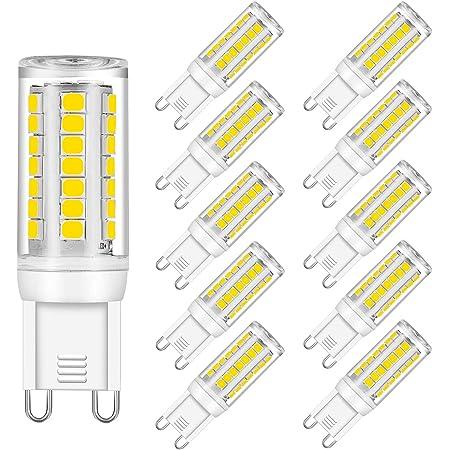 5pcs G9 LED Light Bulb 64-2835 Ceramics Lights 5W 120V Daylight Soft White H