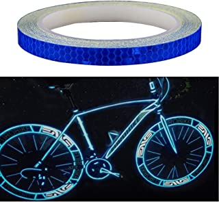 amaoma bicicleta reflectantes Pegatinas 8 m, pegatinas para bicicleta, Auto, Moto, neumáticos