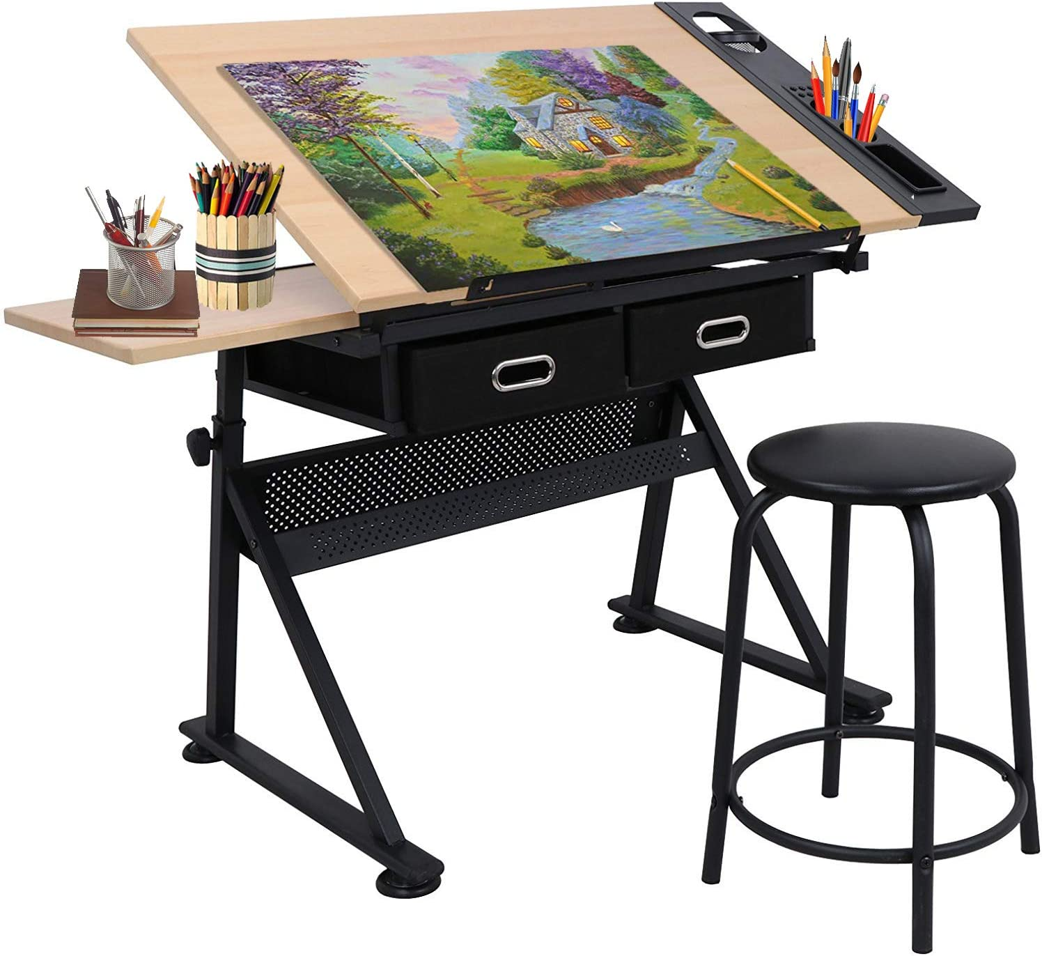 overseas Smartxchoices Branded goods Drafting Table Drawing Tiltable Reclining Tab Desk