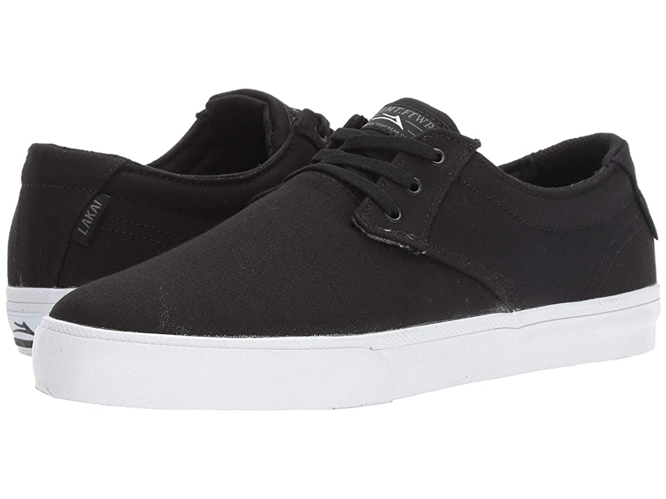 Lakai Daly (Black/Grey Canvas) Men