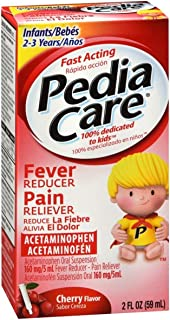 PediaCare Infant Pain Relief/Fever Reducer Drops, Cherry 2 oz ( Pack of 3)