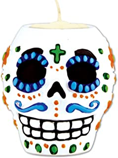 male day of the dead skull