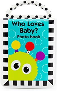 Sassy Developmental Look Book Photo Album  |  High Contrast Colors and Patterns  |  Drool..