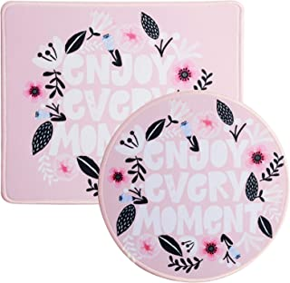 Umikk Mouse Pad, Garland Mouse Mat, Cute Mouse Pad with Design, Non-Slip Rubber Base Mousepad