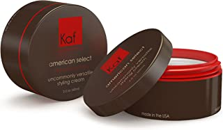 Men's Premium Hair Gel/Cream, Medium hold + shine all day tested to thicken hair Made in the USA