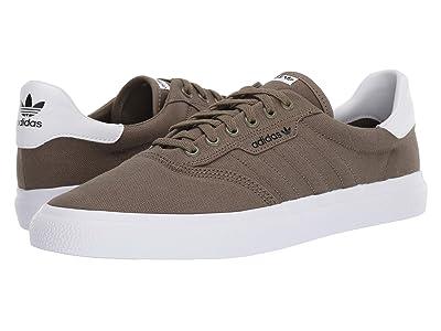 adidas Skateboarding 3MC (Raw Khaki/Raw Khaki/Off-White) Men