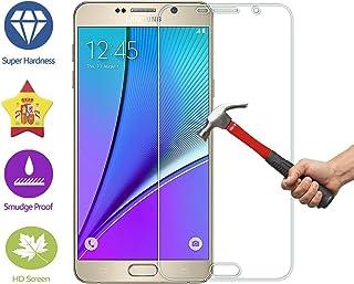 60d5848b559 IM@X Protector DE Pantalla Premium Cristal Vidrio Templado 9H para Samsung  Galaxy Note 5