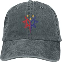 Tribal Philippines Filipino Sun and Stars Flag Cap Cowboys Hats Baseball Cap