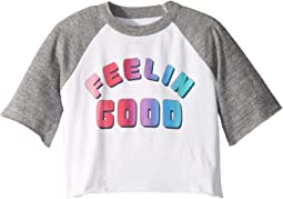 Super Soft Feelin Good 3/4 Bell Sleeve Tee (Toddler/Little Kids)