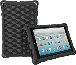 The Best HD 10 Tablet Case for Kids and Adults - Mr.Spades Anti Slip Shockproof Lightweight Protective Covers for All-New HD 10.1
