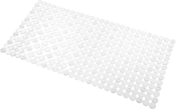 InterDesign Orbz Bath Mat, Clear