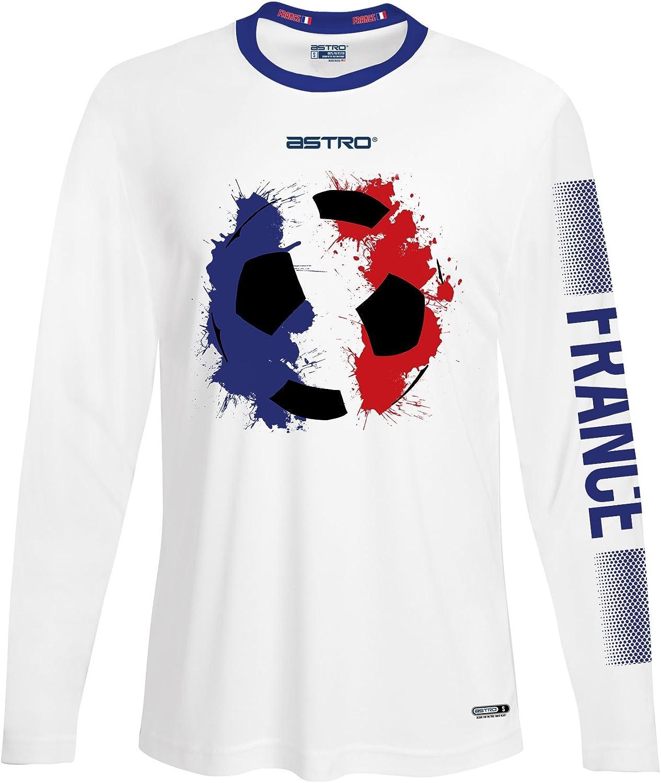 Astro 2018 World Cup France Long Sleeve Soccer Shirt