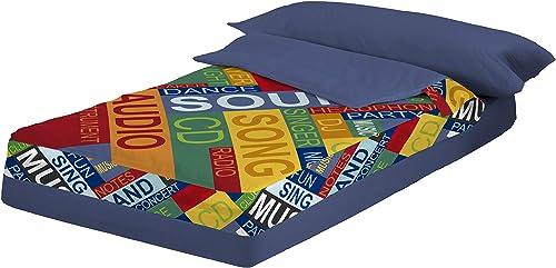 Montse Interiors Sound Ultra doux pour lit de 90 cm para cama de 90x190 200