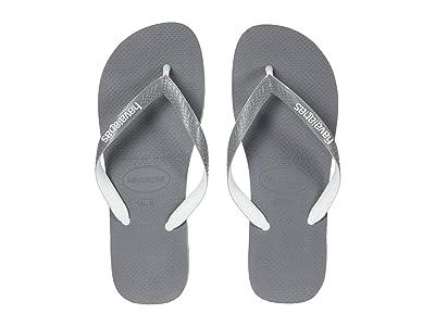 Havaianas Top Mix Flip Flops (Grey/Steel Grey) Men