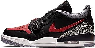 Nike Air Jordan Legacy 312 Low Mens Basketball Trainers CD7069 Sneakers Shoes (UK 6 US 7 EU 40, Black Varsity red 006) 006