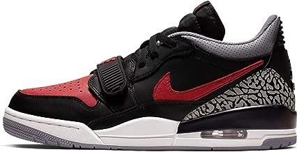 Jordan Legacy 312 Low Black/University Red-Black