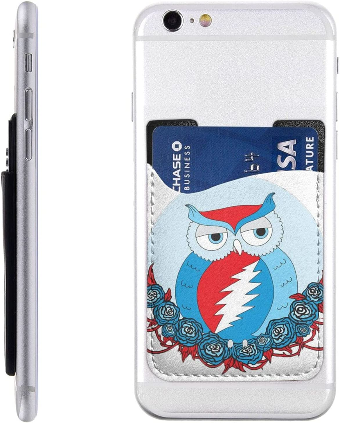 Steal Your Face Owl Phone Card Stick 2021 new Holder W Cell On New arrival