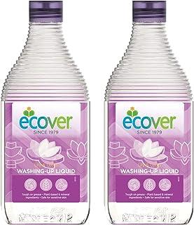 【まとめ買い】 食器用洗剤 エコベール ディッシュソープ 本体 リリー&ロータスの香り 450ml×2個