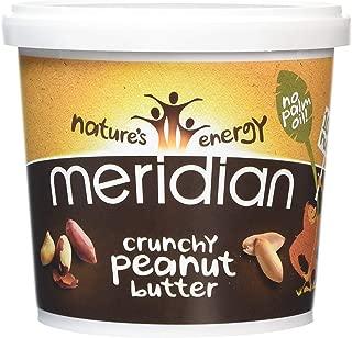 Meridian - Organic Peanut Butter Crunchy 100% - 1kg