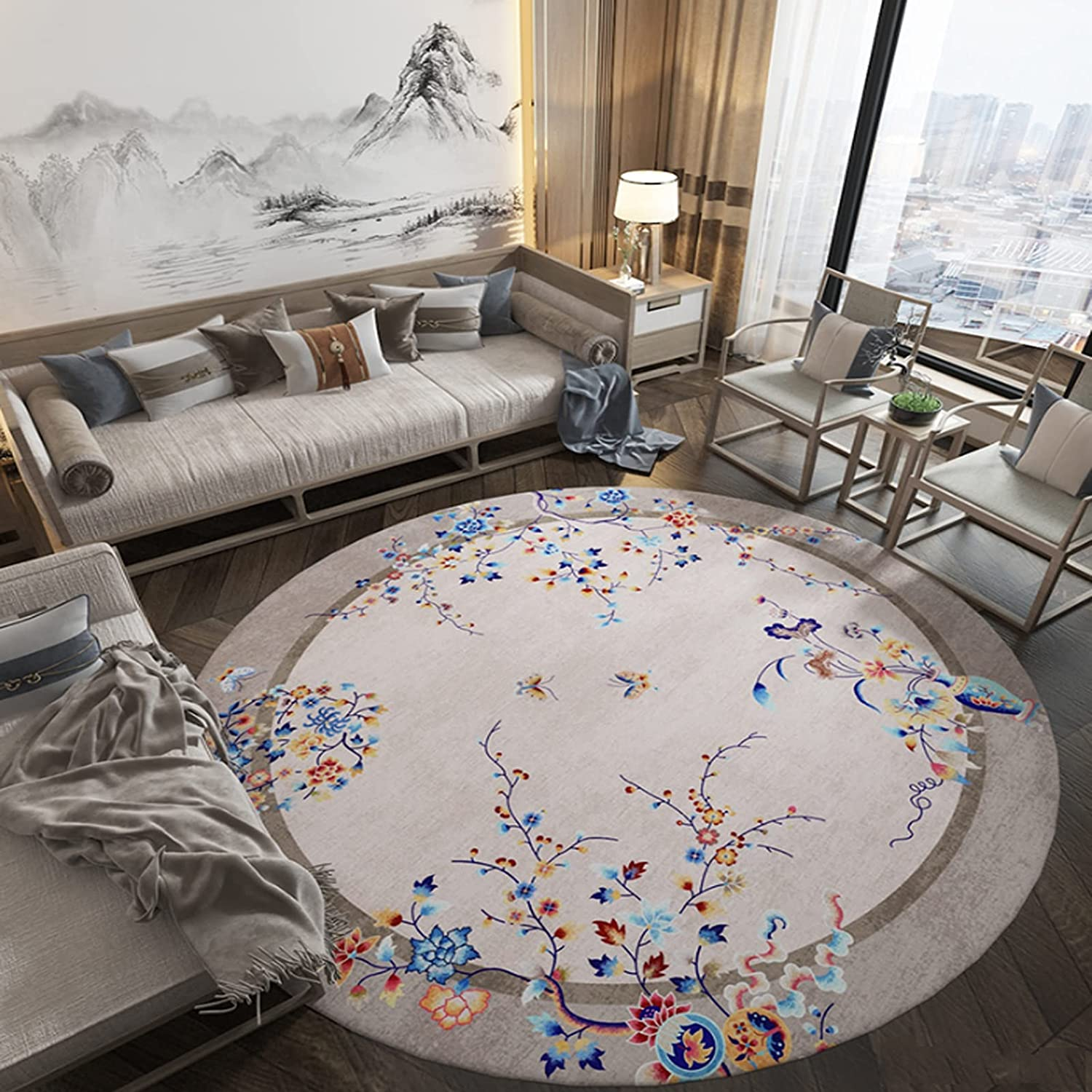 CMX-BOX Quality Fashion inspection Classic Area Rugs Round Carpet for Store Home Liv Indoor
