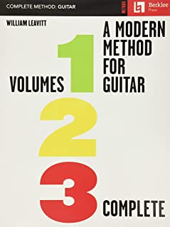A Modern Method for Guitar - Volumes 1, 2, 3 Comp.