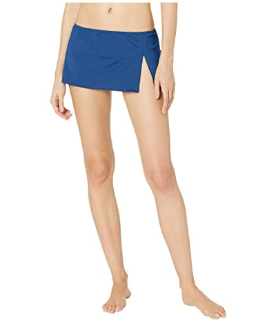 Bleu Rod Beattie Kore Bottoms Skirted Hipster Bottoms (Navy) Women