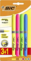 BIC Marking Highlighter Grip Fosforlu Kalem Karışık Renk 3+1'li Blister