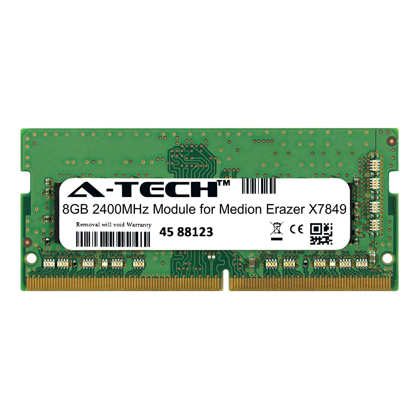 A-Tech 8GB Module for Medion Erazer X7849 Laptop & Notebook Compatible DDR4 2400Mhz Memory Ram (ATMS368861A25827X1)