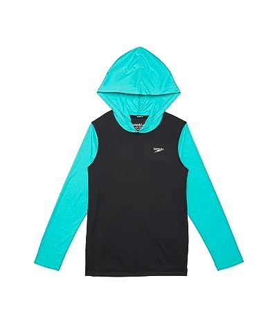 Speedo Kids Long Sleeve Hooded Swim Shirt (Little Kids/Big Kids)