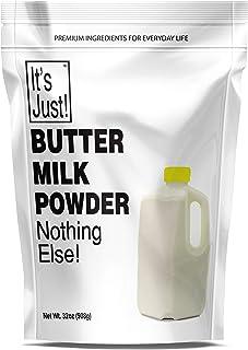 Sponsored Ad - It's Just - Buttermilk Powder, Sweet Cream Butter Milk, Made in USA, 32oz