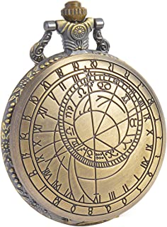 SIBOSUN Pocket Watch Doctor Who Confession Dial Pattern Dr. Who Quartz Chain Box