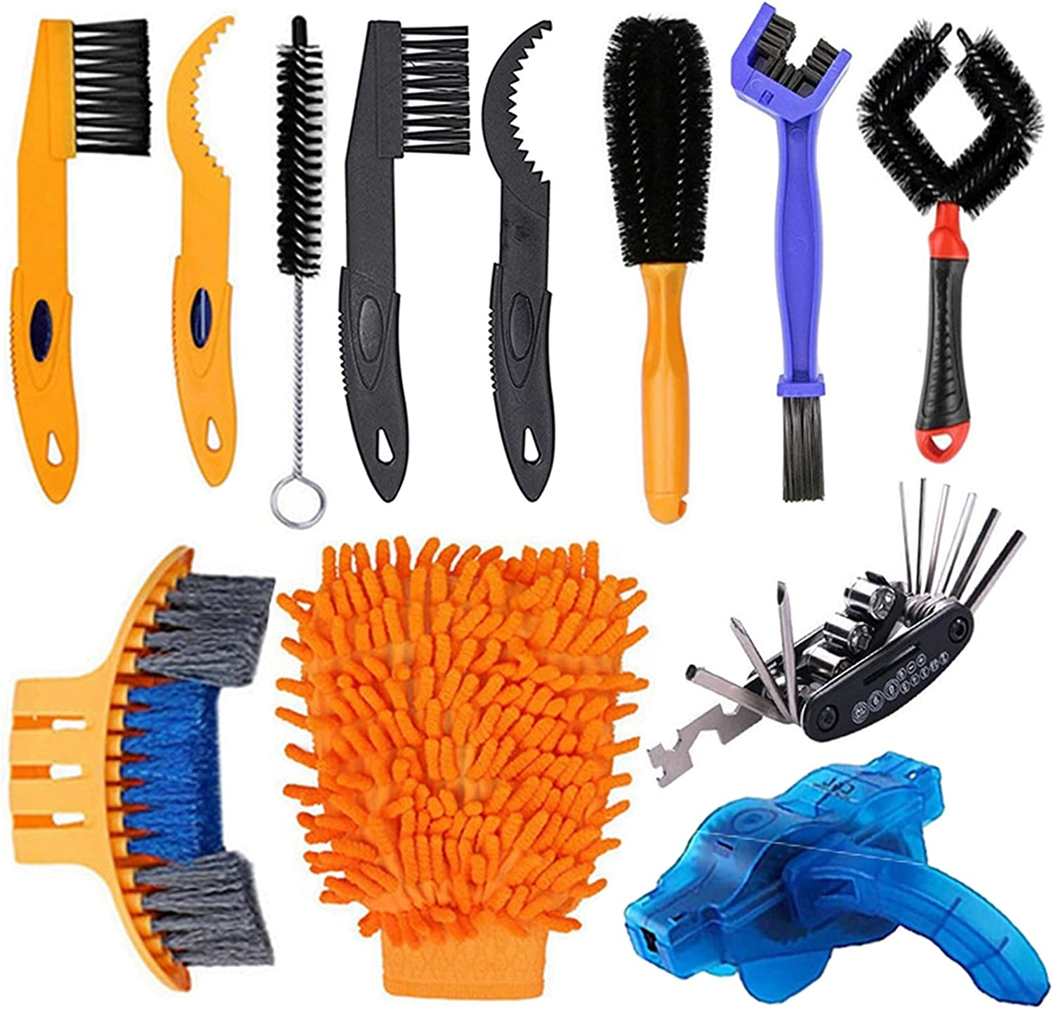 Bicycle Chain Cleaner Bike Cleaning Ch Tool Max 68% OFF Kit Washing Ranking TOP6