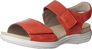 Aravon Women's Beaumont Two Strap Flat Sandal