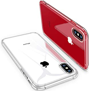 mobile store Armor Soft iPhone XS-X Uyumlu Kılıf, Darbe Karşıtı Koruyucu Şeffaf Silikon