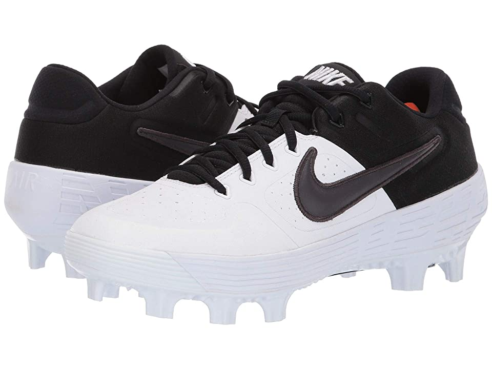 Nike Alpha Huarache Elite 2 Low MCS (White/Thunder Grey/Black) Men
