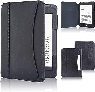 ACdream Case Fits All-New Nook Glowlight Plus 7.8 Inch 2019 Release, Folio Premium PU Leather Cover Case for Barnes&Noble Nook Glowlight Plus 7.8 Inch Ereader, Black