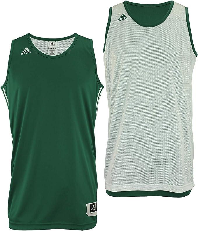 Adidas Mens Reversible Basketball Practice Jersey