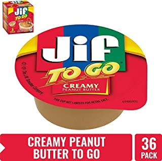 Jif To Go Creamy Peanut Butter, 4.5 Ounce (Pack of 12)