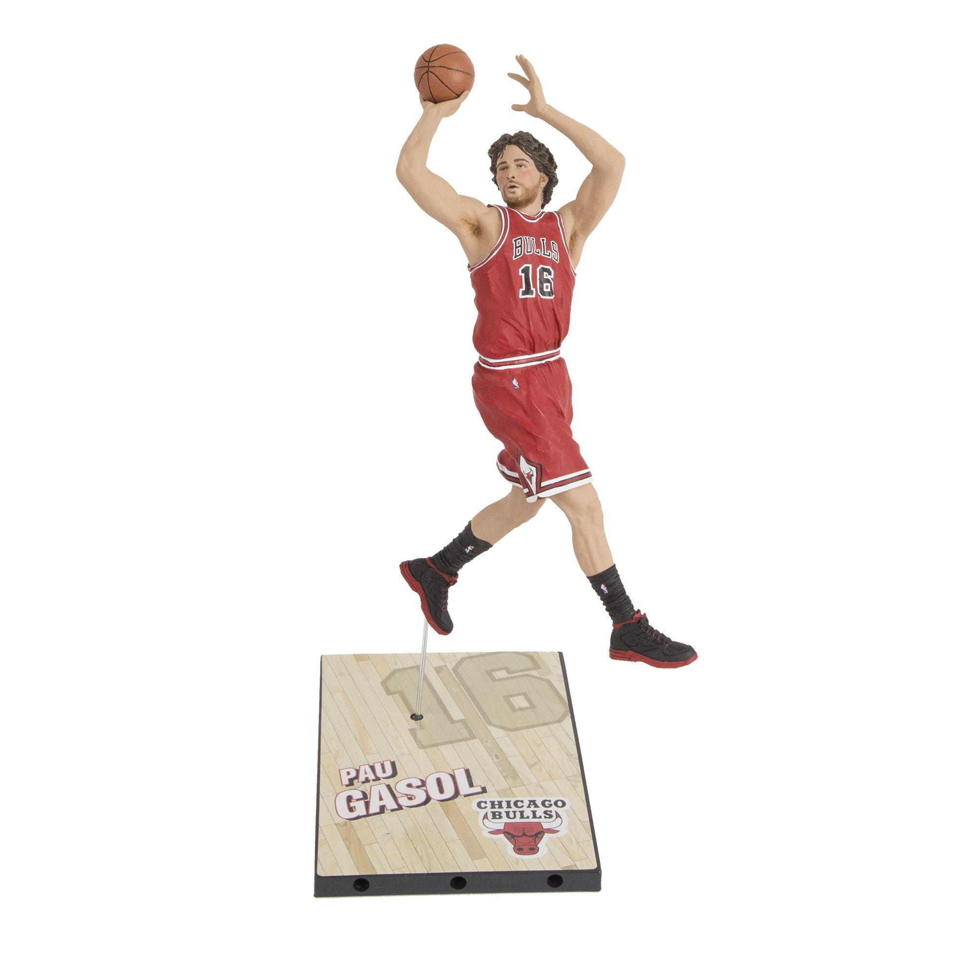 McFarlane NBA Series 27 PAU GASOL #16 - Chicago Bulls Sports Picks Figure: Amazon.es: Juguetes y juegos