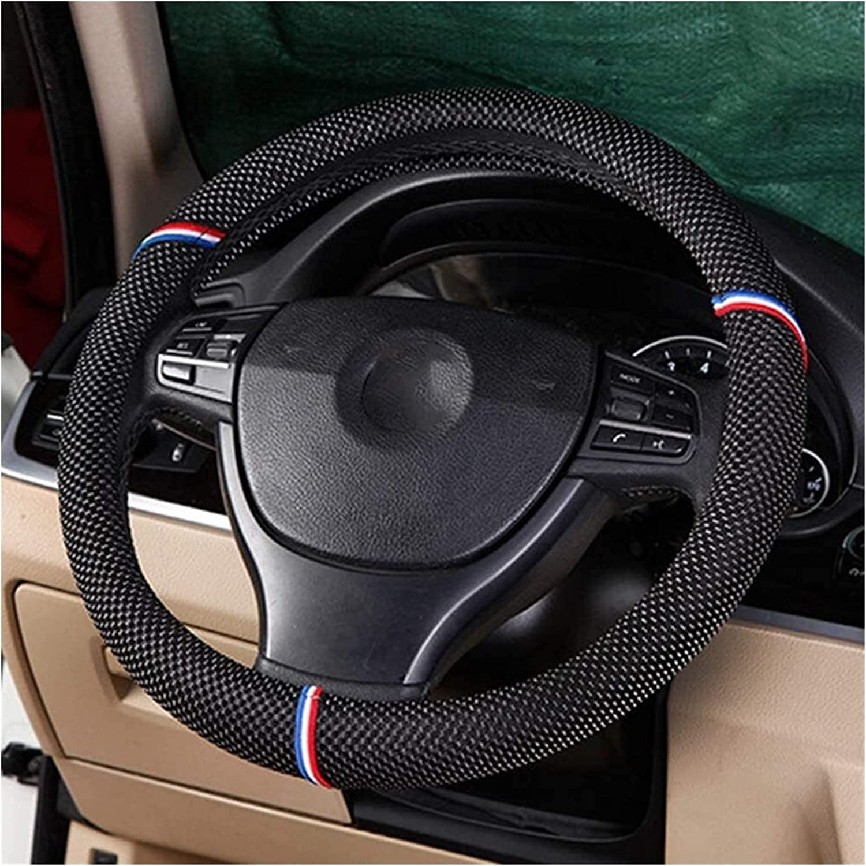 Steering Wheel Jacksonville Mall Cover Covers Car Over item handling ☆ Honeycomb S Fiber