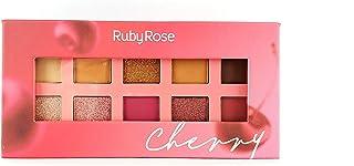 Paleta De Sombras Cherry Ruby Rose HB-1050