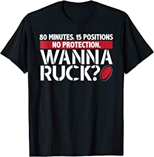 wanna ruck t shirt