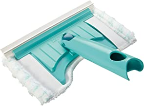 Leifheit Bath Scrubber Flexi Pad with Fixture Cutout for Leifheit Click System, Turquoise